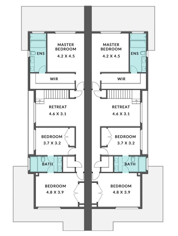 Delacorte First Floorplan